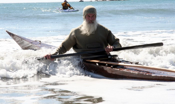 Paddling out of Middle Earth